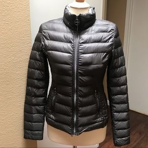 Laundry by Shelli Segal Gray Down Jacket XS